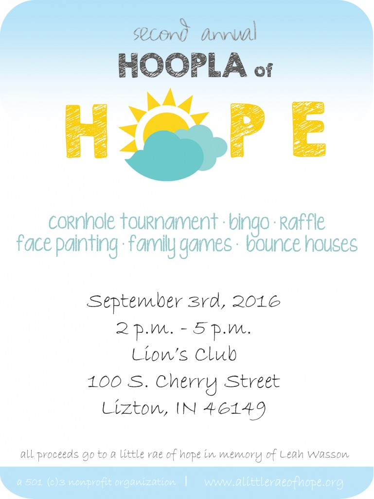Hoopla of hope